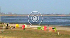 Webcam am Strandcampingplatz Dangast